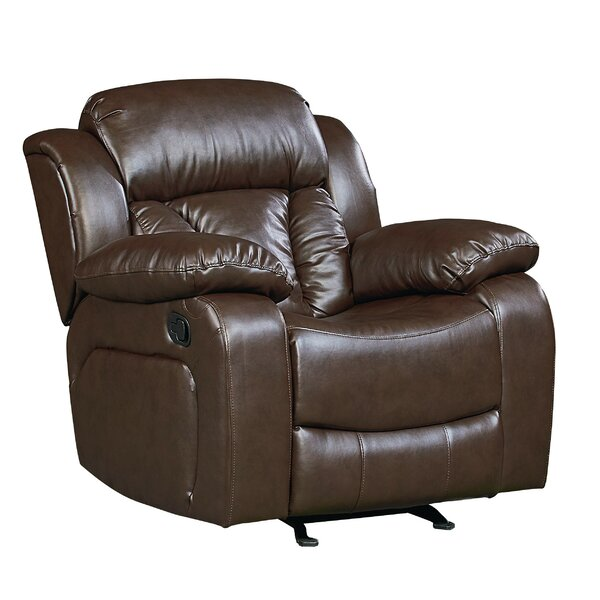 Delaney Faux Leather Rocker Recliner RDBS7115