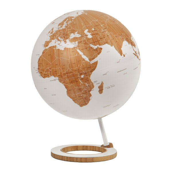Bamboo Desk Globe by Atmosphere