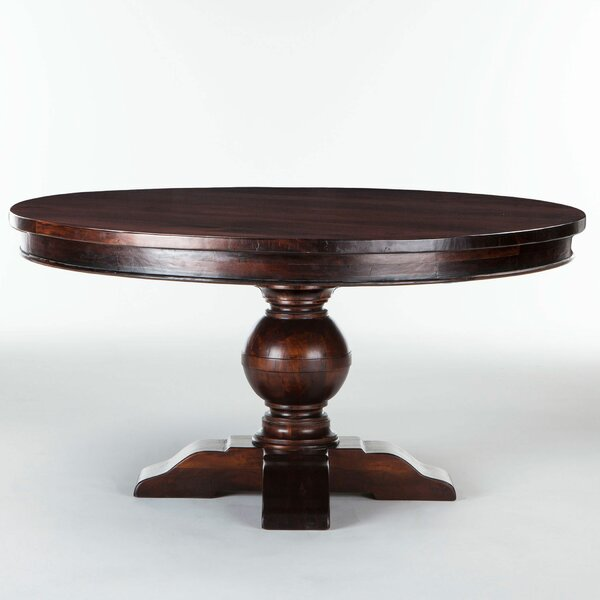 Musson Solid Wood Dining Table by Charlton Home