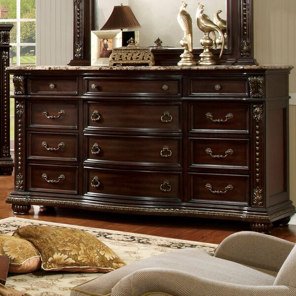 Evangeline 12 Drawer Dresser by Astoria Grand