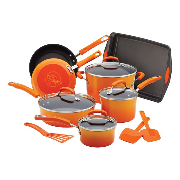 Porcelain II Nonstick Cookware Set by Rachael Ray