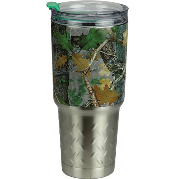 Wantaugh Camo 32 oz. Stainless Steel Travel Tumbler by Millwood Pines