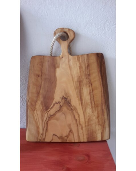 Olive Wood Broad Cutting Board by Pomegranate Solutions, LLC