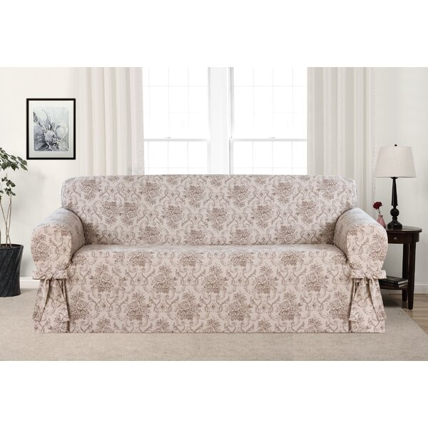 Box Cushion Sofa Slipcover by One Allium Way
