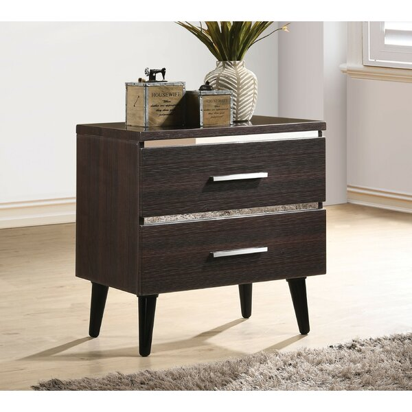 Royle 2 Drawer Nightstand by Orren Ellis