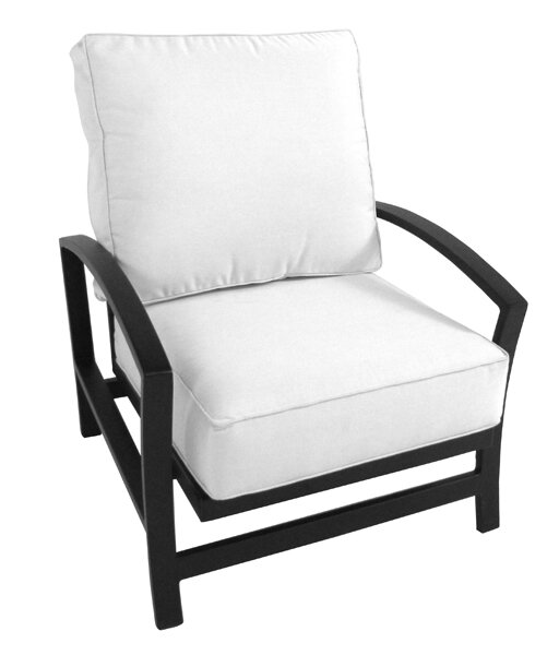 Millom Deep Seating Chair with Cushion by Canora Grey