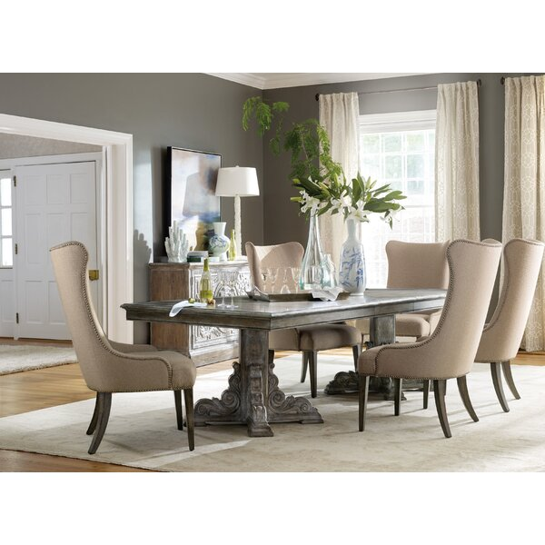 True Vintage 3 Piece Extendable Dining Table Set by Hooker Furniture