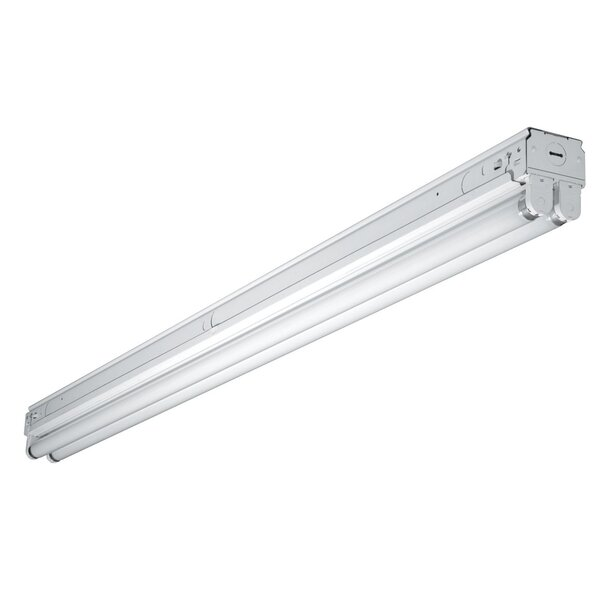 4 Two Lamp Narrow Strip T8 / 32 with Residential Ballast by Cooper Lighting