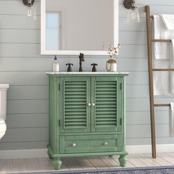 Macdonald 30 Single Bathroom Vanity Set by August