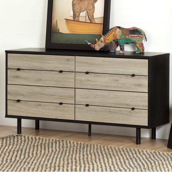 Bookout 4 Drawer Double Dresser by Langley Street
