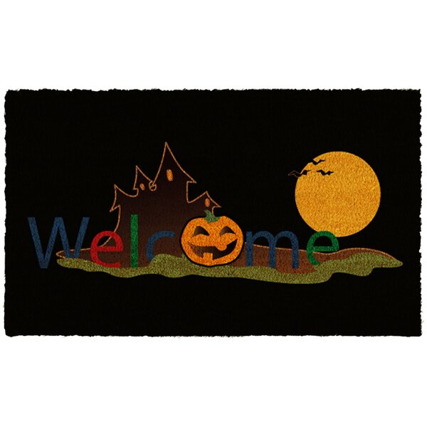 Halloween Welcome Doormat by Home & More