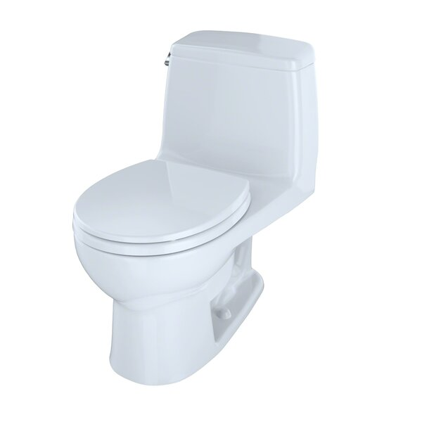 Ultramax G-Max Low Consumption 1.6 GPF Round Bowl One-Piece Toilet by Toto