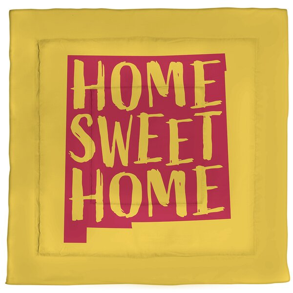 New Mexico Home Sweet Single Reversible Comforter