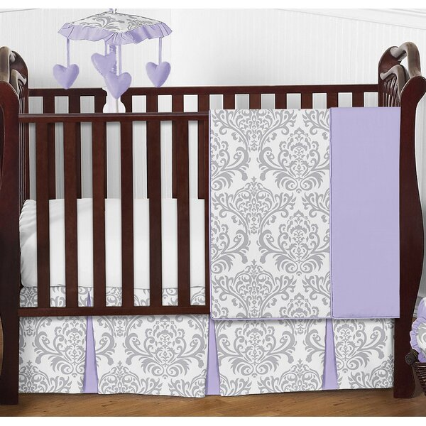 Elizabeth 4 Piece Crib Bedding Set by Sweet Jojo Designs