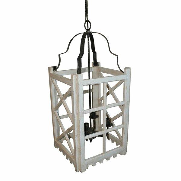 Raevon 4 - Light Lantern Rectangle Chandelier by Gracie Oaks Gracie Oaks
