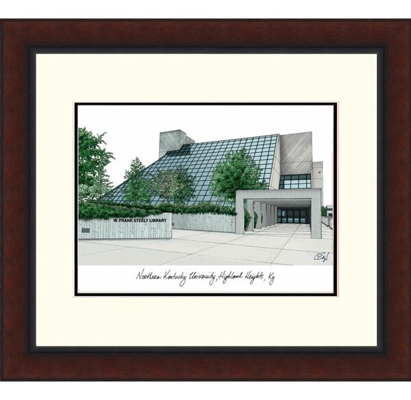 Northern Kentucky University Alumnus Lithograph Framed Photographic Print by Campus Images