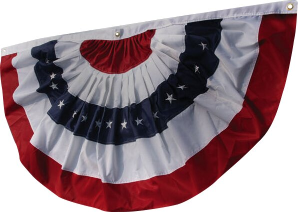 Bunting Vertical Flag by Evergreen Flag & Garden