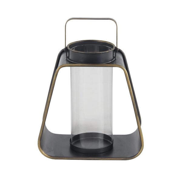 Modern Metal Lantern by George Oliver