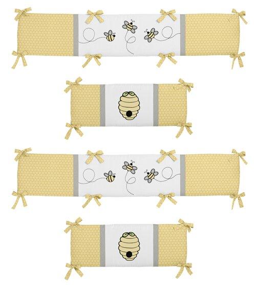 Honey Bee Crib Bumper by Sweet Jojo Designs