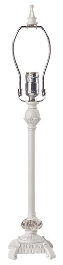 Scroll Glass Ball 23.5 Table Lamp by Jubilee Collection