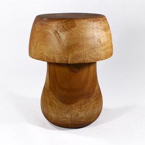 Goosenest Mushroom End Table by Loon Peak