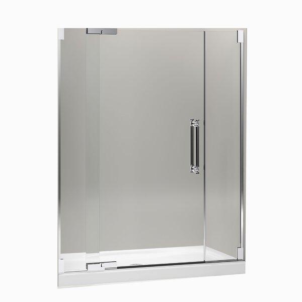Pinstripe 59.75 x 72.25 Pivot Shower Door by Kohler