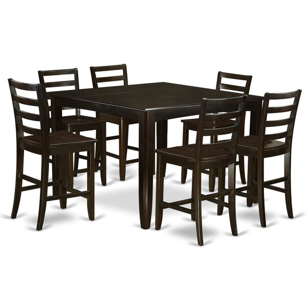 Best #1 Krull 7 Piece Counter Height Dining Set By Red Barrel Studio Cheap