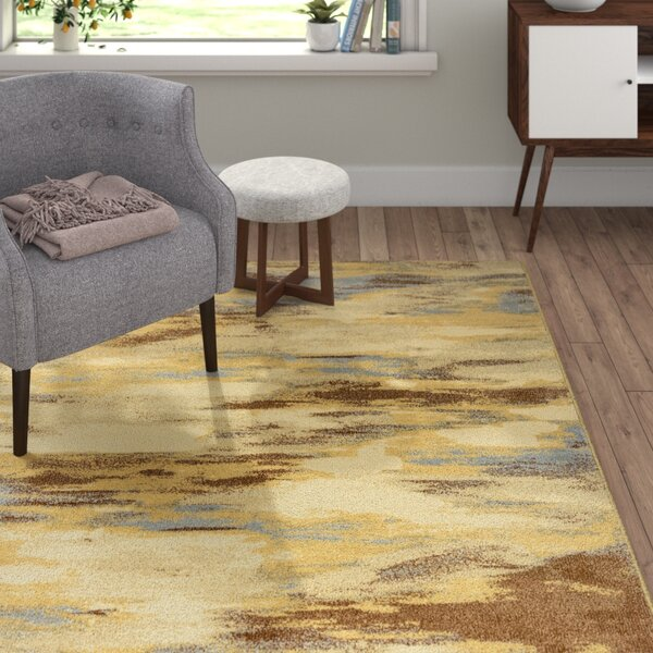 Medford Khaki Area Rug by Langley Street