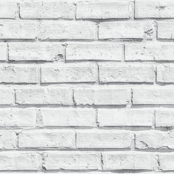 "Arthouse 31.5' X 21"" Brick Wallpaper Roll & Reviews by Arthouse"