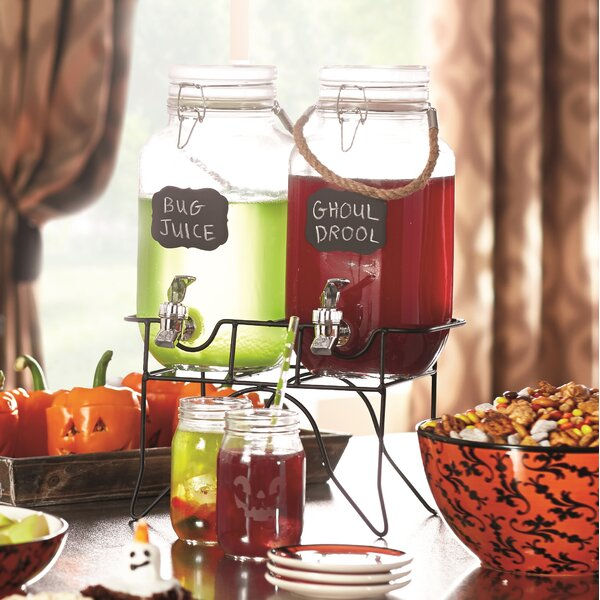 Lofland 3 Piece 1 Gal Beverage Dispenser Set by August Grove