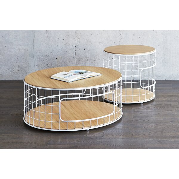 Wireframe End Table with Storage by Gus* Modern Gus* Modern