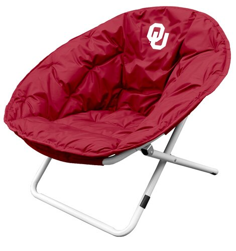 Collegiate Sphere Chair - Oklahoma by Logo Brands