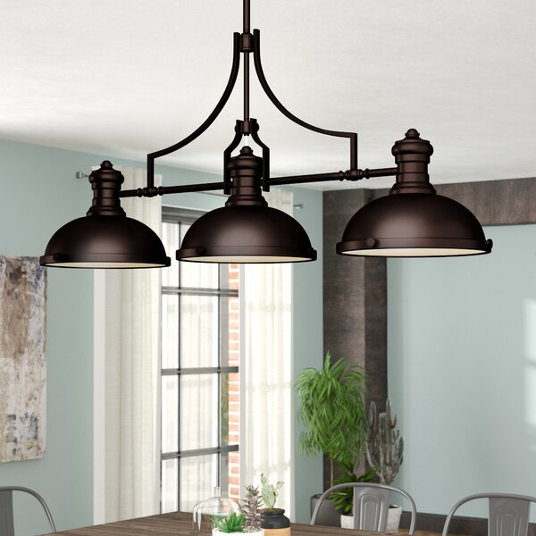 Westlake Village 3-Light  LED  Pendant by Trent Austin Design