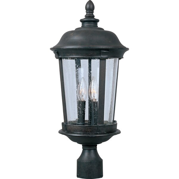 Nunnally Outdoor 3-Light Lantern Head by Darby Home Co