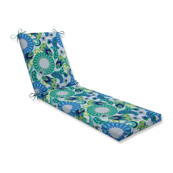 Sisneros Indoor/Outdoor Chaise Lounge Cushion by Winston Porter Winston Porter