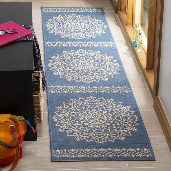 Dunnyvadden Blue/Cream Area Rug by Canora Grey