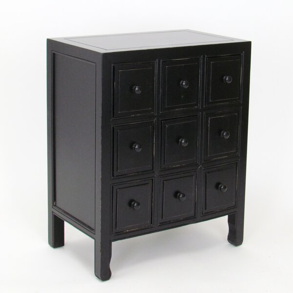 Rushmore 9 Drawer CD Chest by World Menagerie World Menagerie