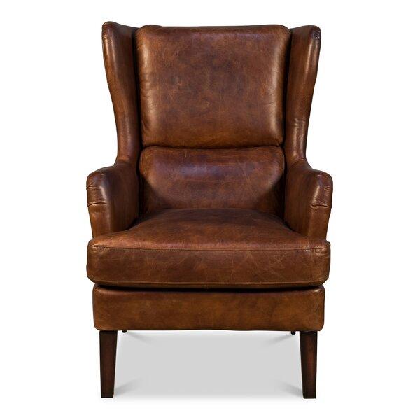 Kale Wingback Chair by Loon Peak
