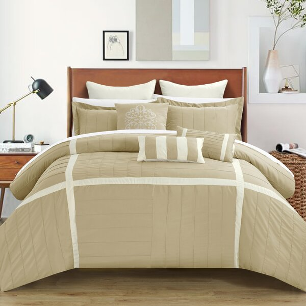 Vera 8 Piece Comforter Set by Chic Home