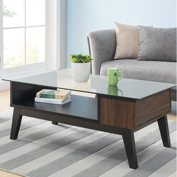 Normandie Coffee Table with Storage by George Oliver