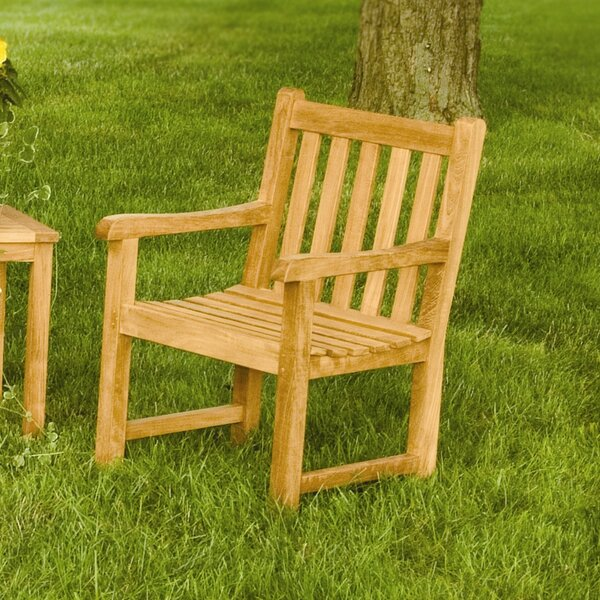 Clasic Teak Patio Chair by Three Birds Casual