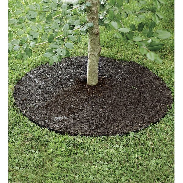 Permanent Mulch Tree Ring Landscape Edging by Plow & Hearth
