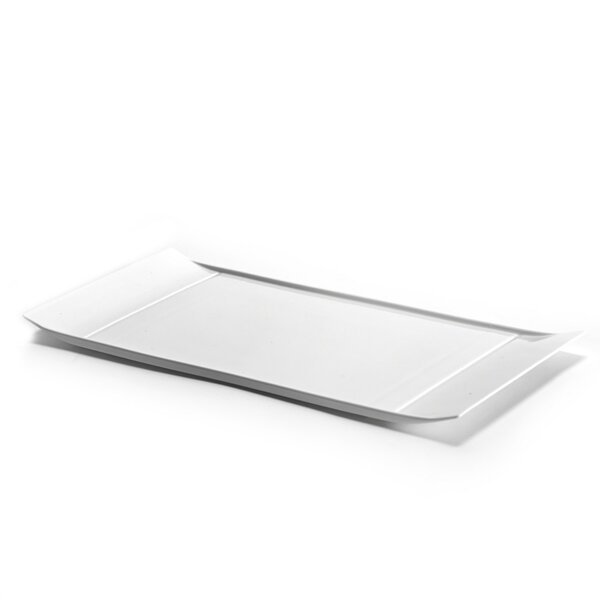 Alto Rectangular White Platter by Latitude Run