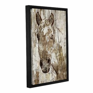 Lady Ann Framed Painting Print on Wrapped Canvas by Loon Peak
