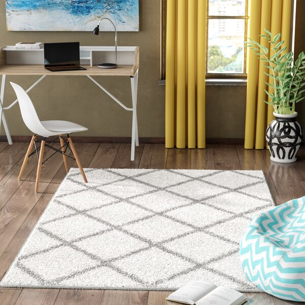 Helsel Ivory Area Rug by Wrought Studio