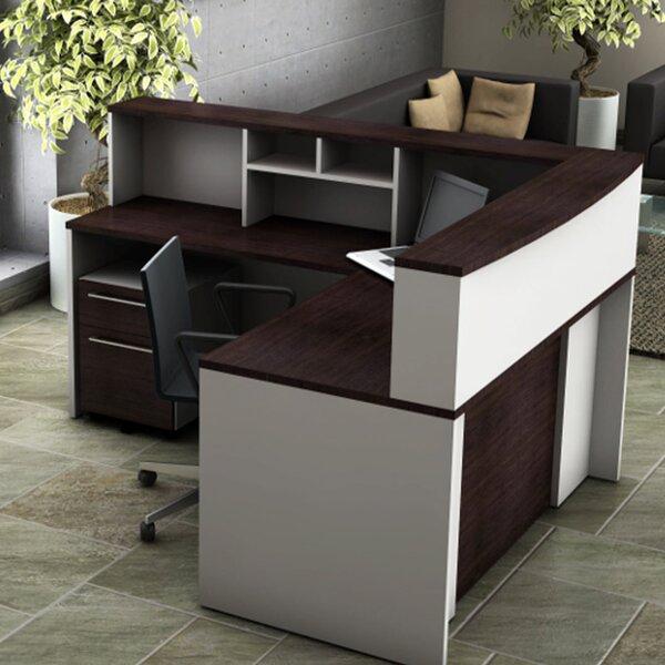 5 Piece L-Shape Desk Office Suite by OfisLite