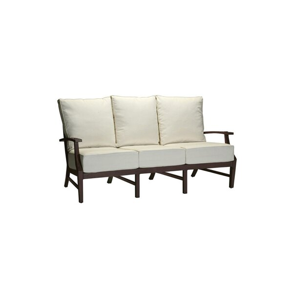 Croquet Patio Sofa with Cushions by Summer Classics