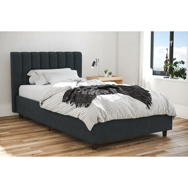 Brittany Upholstered Platform Bed by Novogratz