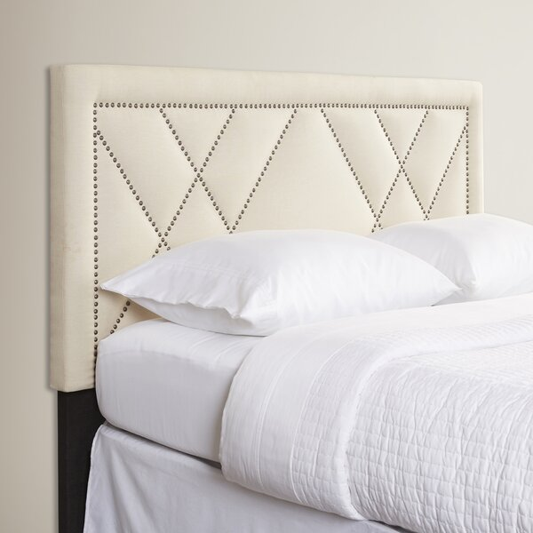 Upholstered Panel Headboard by House of Hampton