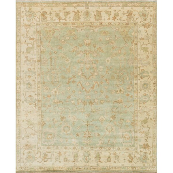 Brentwood Green/Ivory Area Rug by Loloi Rugs